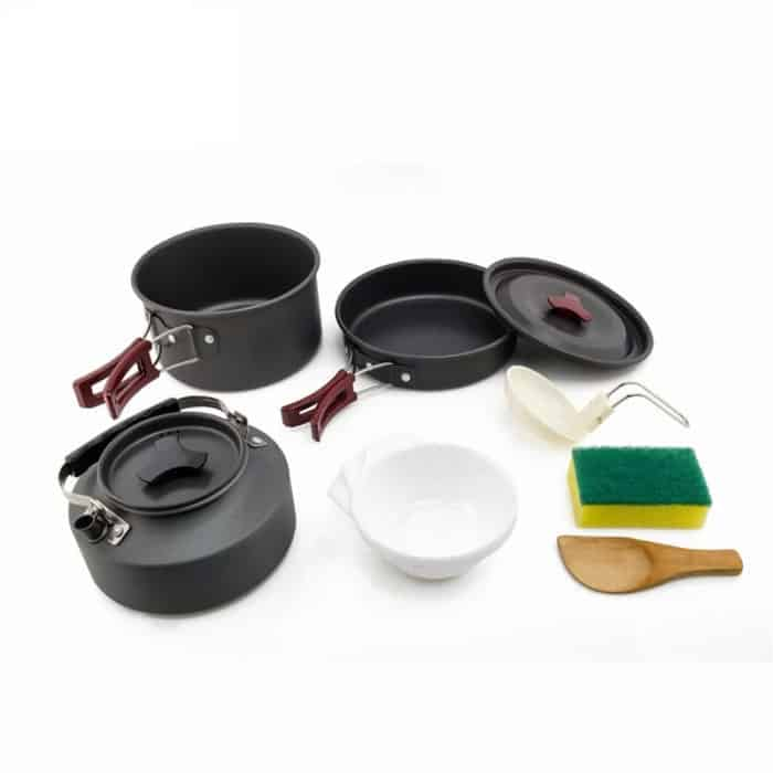 Cookware Sets Camping Essentials