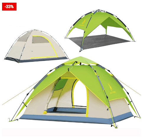 Waterproof Camping Tent Pop Up Shelter An Essential For Camping