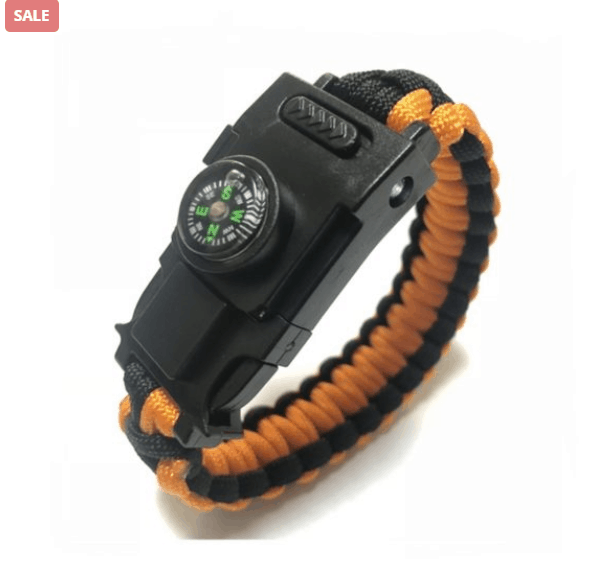 Survival Bracelet Can Save Your Life