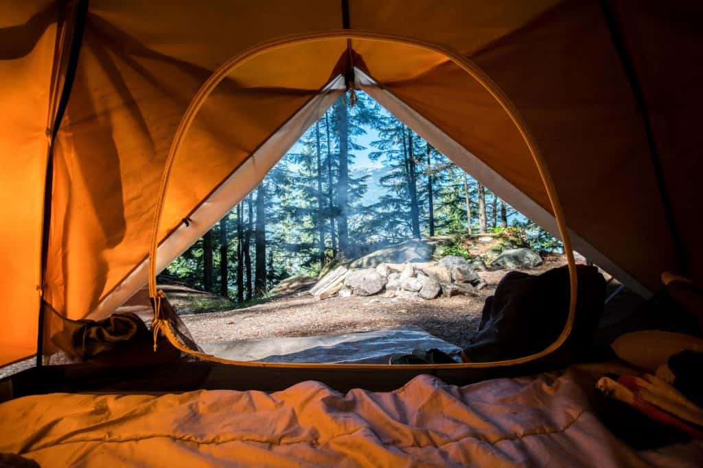 The Camping With Camping Mosquito Net