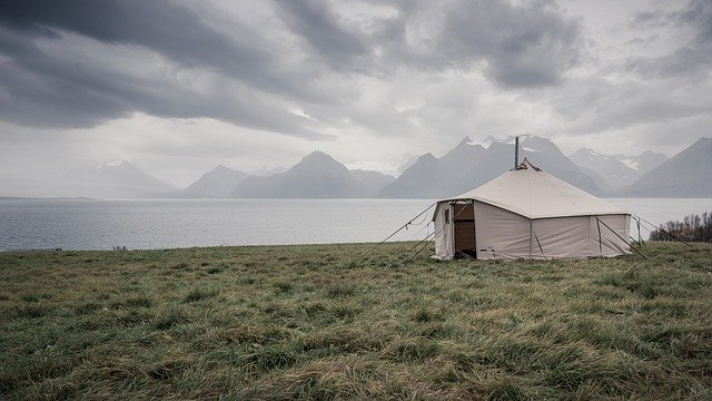 Glaming Tents